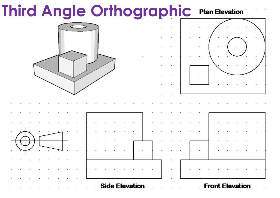 Orthographic Drawing Solution