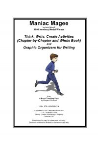 Maniac Magee: Think, Write, Create Activities with Graphic
