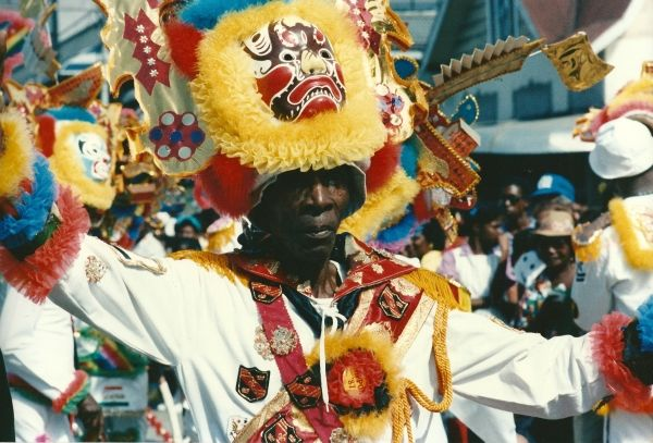 Carnival in Port-of-Spain. Peter Krog.