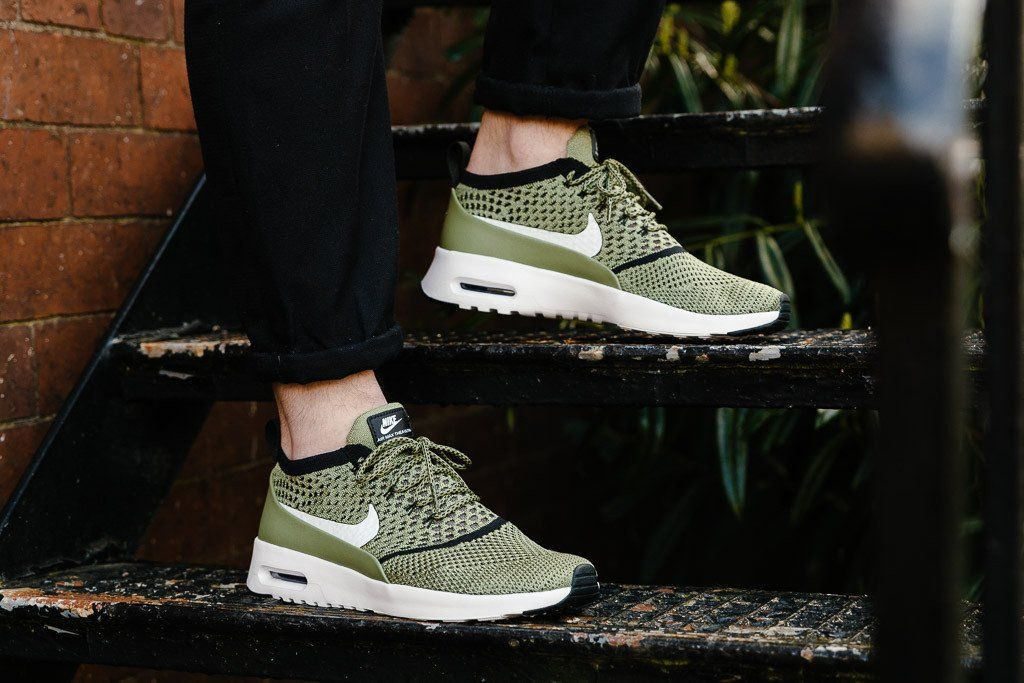 competitive price 05755 048a4 NIKE AIR MAX THEA ULTRA FLYKNIT GREEN 881175 300