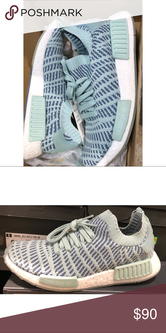 NWT NMD R1 STLT These are new in the box! Super cute color