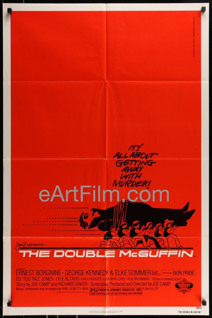 Double McGuffin- Ernest Borgnine-George Kennedy-Elke Sommer-Saul ...
