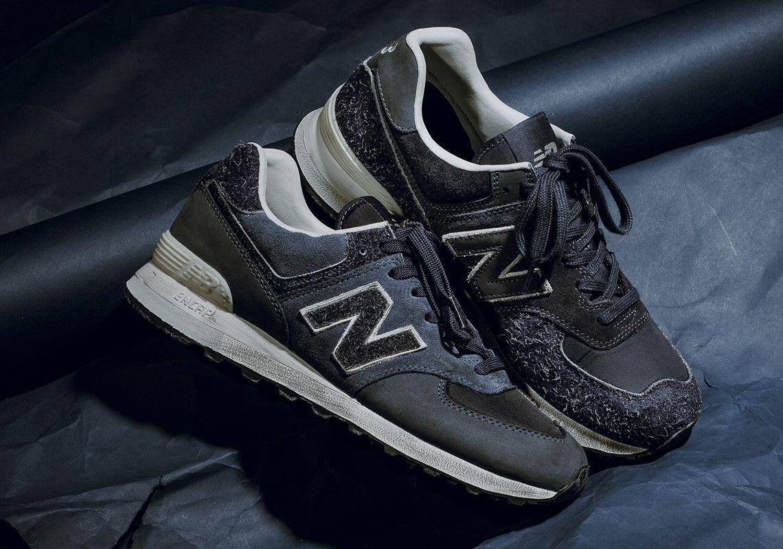 huge selection of c061f d3361 Invincible New Balance 574 Black/Grey Release Info ...