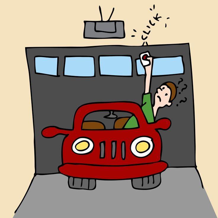 They need a new garage door for sure! | Rustic Wood Garage Doors ...