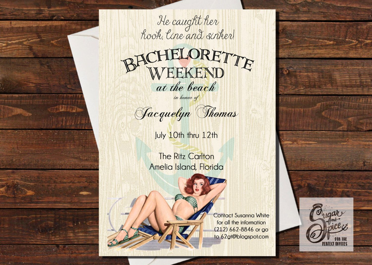 Bachelorette Party Invitation, Adult Party Invitation, Beach Party ...