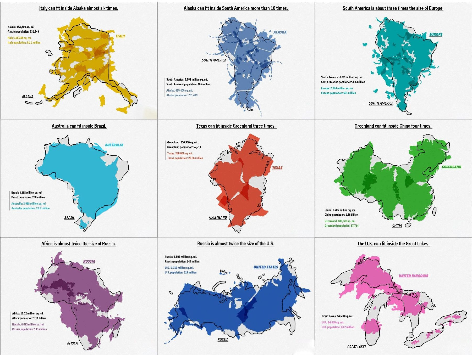 Mapporn Seems To Like Size Comparisons Amazing Maps Infographic Map Map