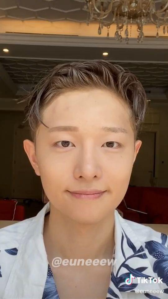 Men Makeup Tutorial And Grwm Tiktok Video Male Makeup Natural Makeup Tutorial Korean Makeup Look