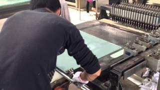 Производство стеклянной мозаики в Китае