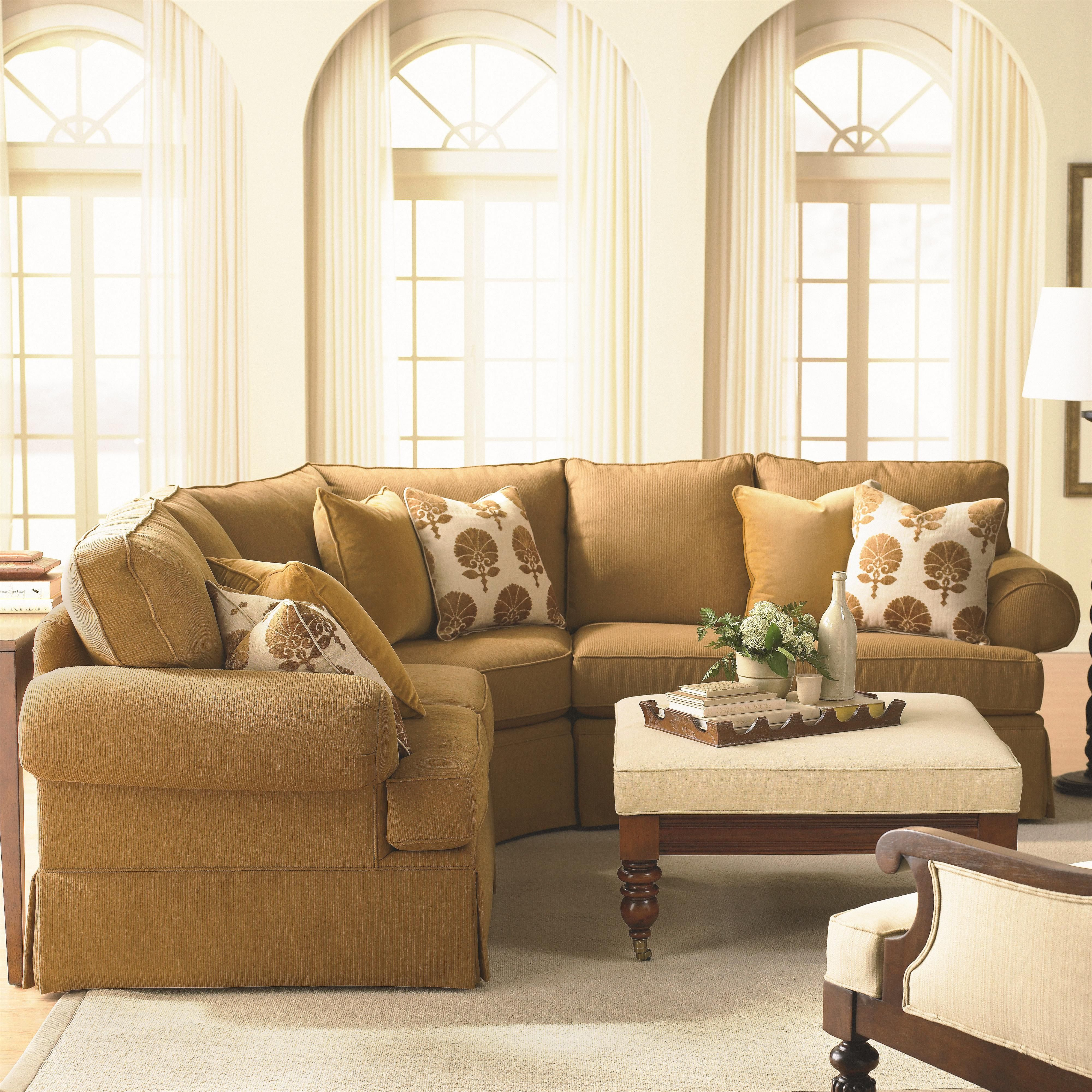 Manor Custom 3 Pc. Sectional By