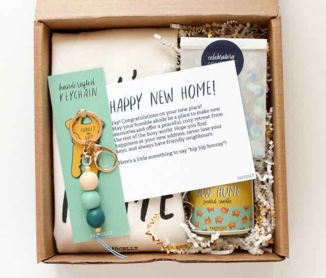 Personalized Housewarming Gift Basket | Real Estat