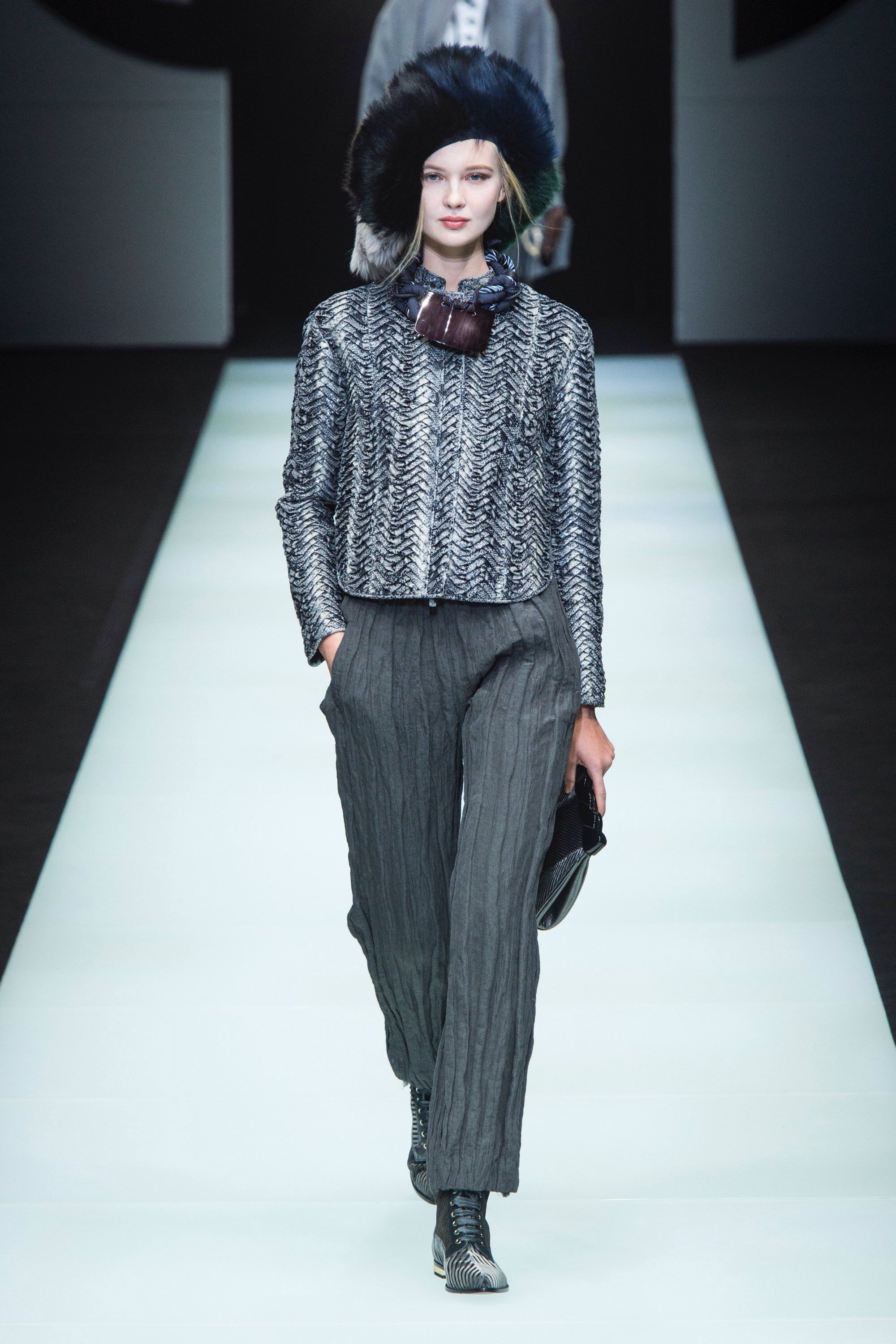 Giorgio Armani Fall 2018 Ready-to-Wear Fashion Show Collection