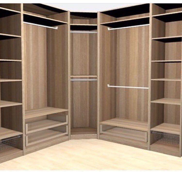منجره الإبتكار غرف نوم On Instagram للتواصل واتساب اتصال99599167 00965 تفصال حسب الطلب Corner Wardrobe Closet Corner Wardrobe Wood Wardrobe Design