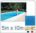 Bache A Bulle Piscine 5x10 Metres Couverture Robot Piscine