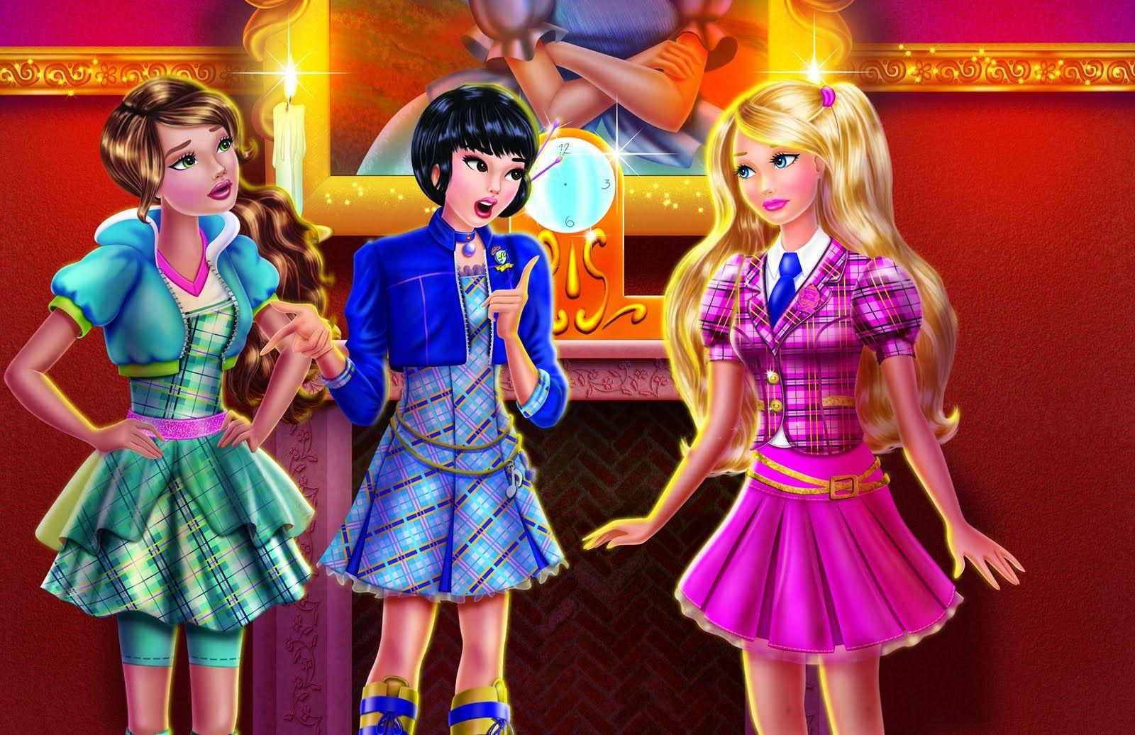 Princess Charm School Princess Charm School Barbie Movies