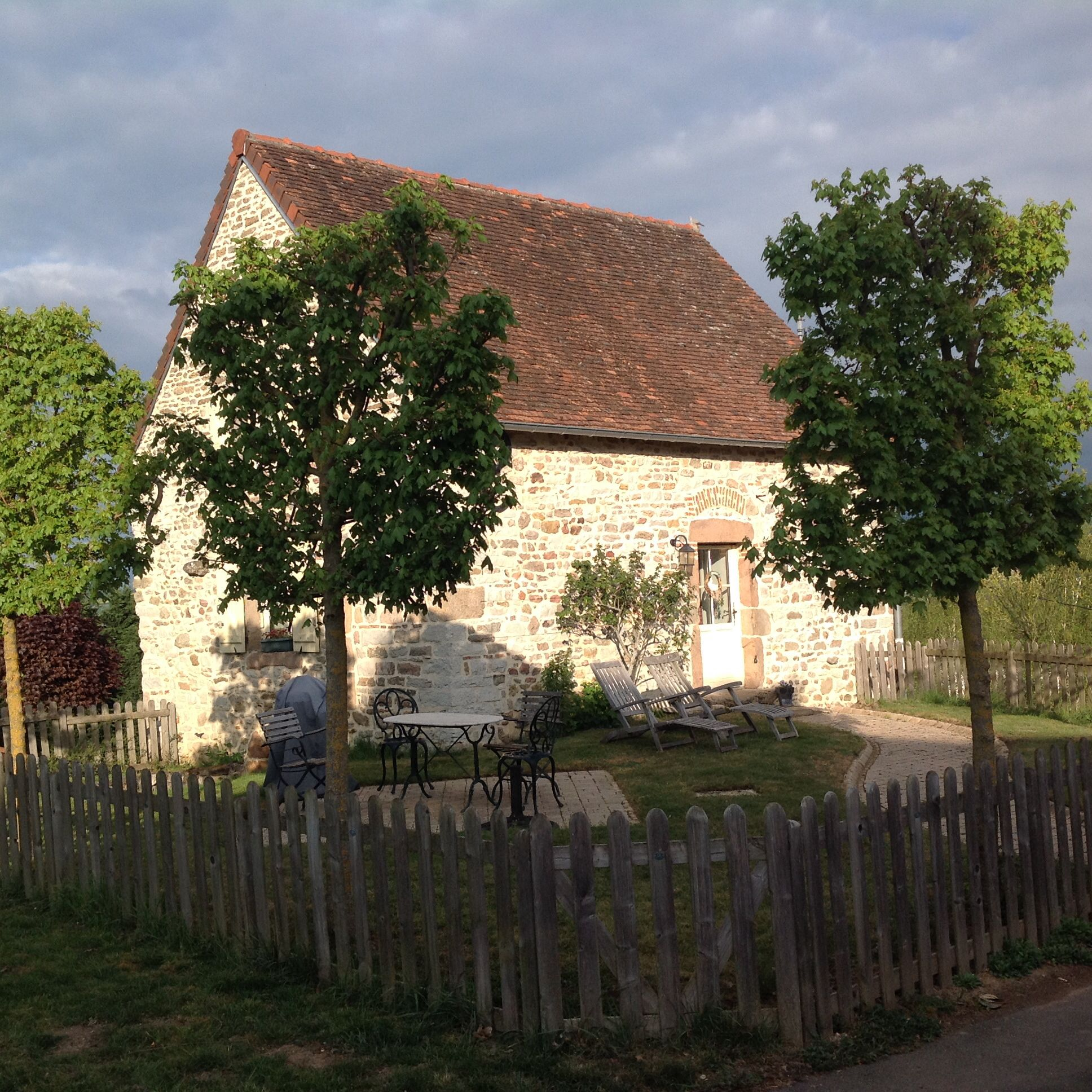 The lovely cottage at my friends house in Burgundy! You can also rent it! See www.montdulievre.eu