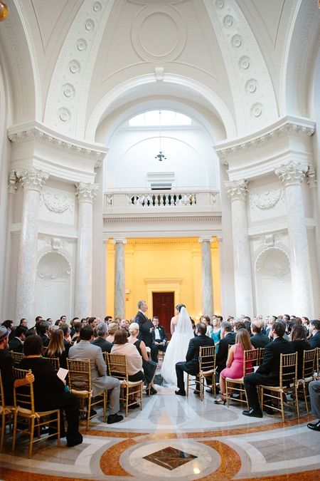 Chic black tie wedding at the Carnegie Institution of Science, DC- Abby Grace Photography