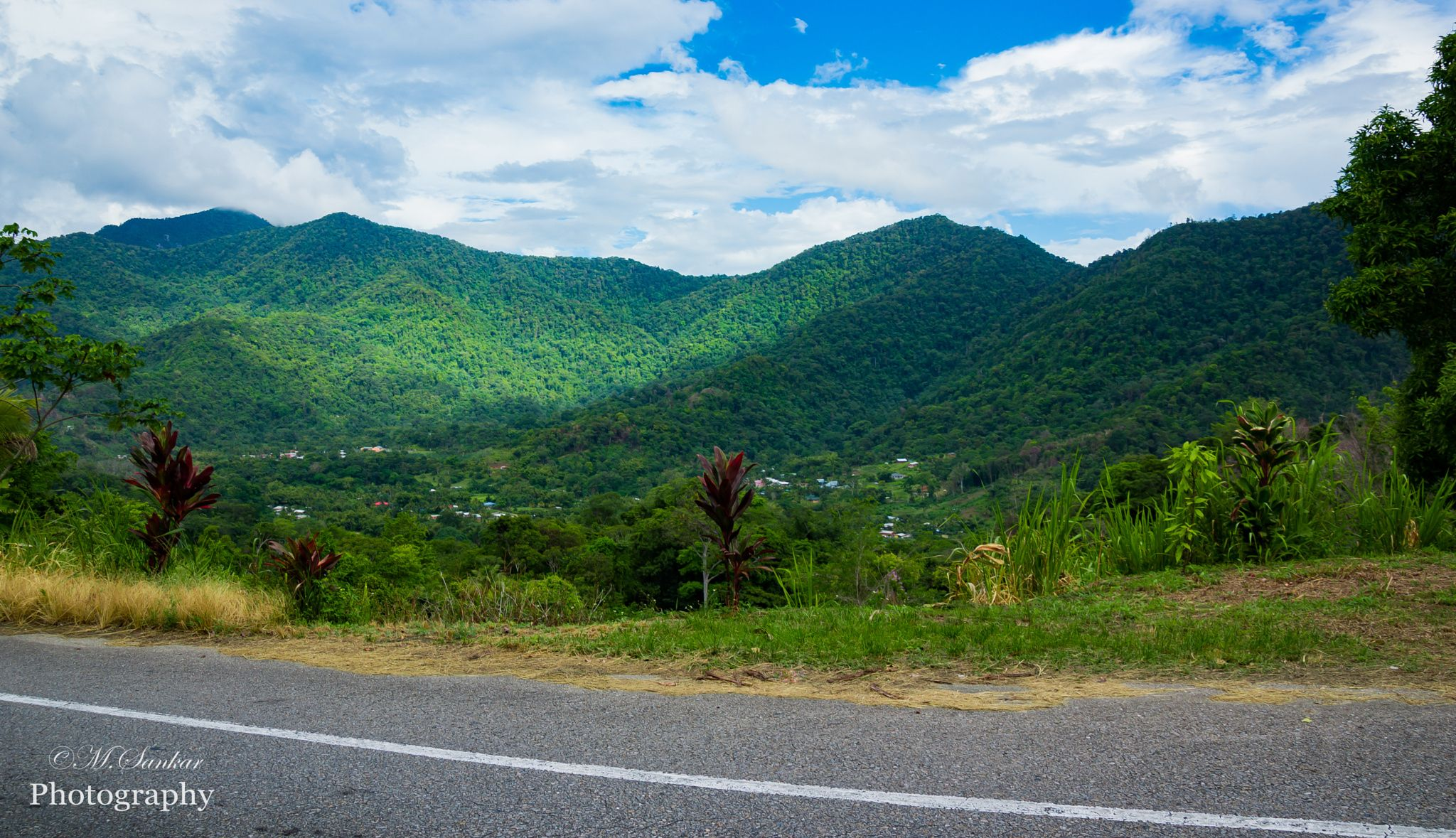 Hills of T&T - I grabbed this shot while we drove up to the beautiful Maracas Bay of Trinidad and Tobago!