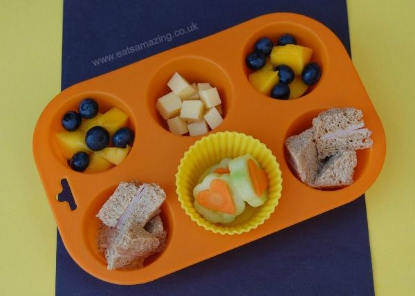 Muffin Tin Meal Idea For 1 Year Old Small Baby
