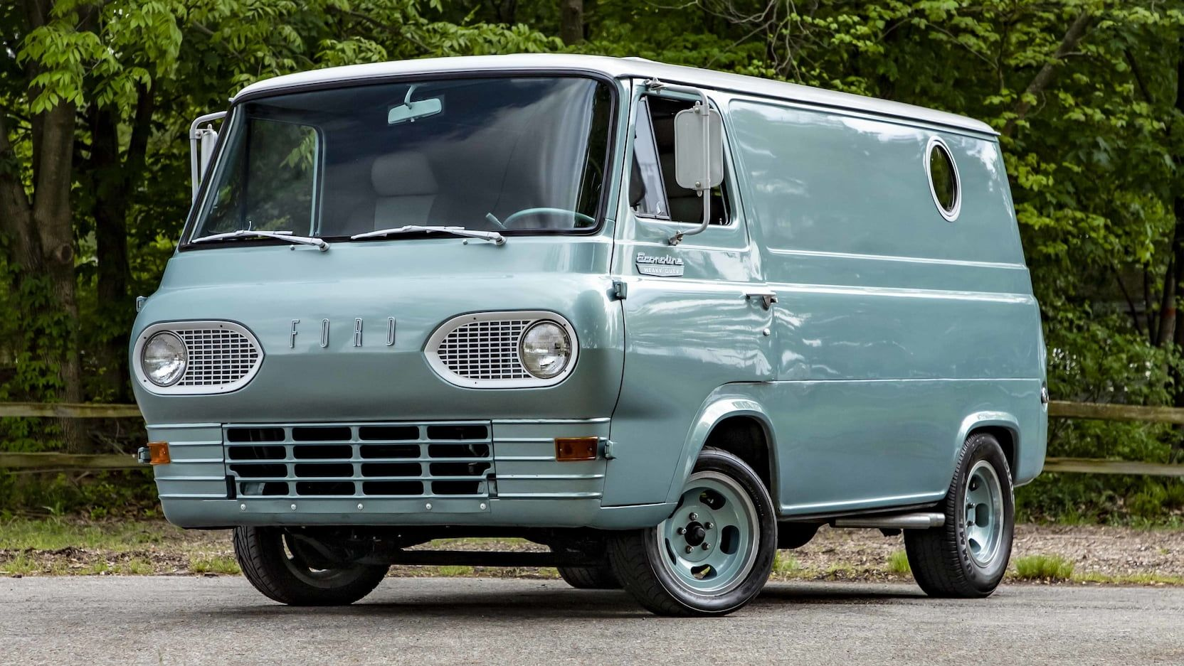 1965 Ford Econoline Van Presented As Lot U75 1 At Indianapolis In