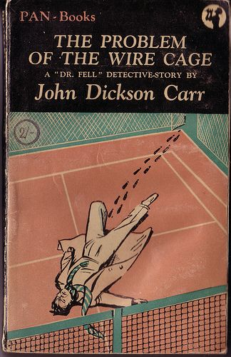 Astounding Problem Of The Wire Cage By John Dickson Carr Pan 97 1949 Vintage Wiring Cloud Hisonuggs Outletorg