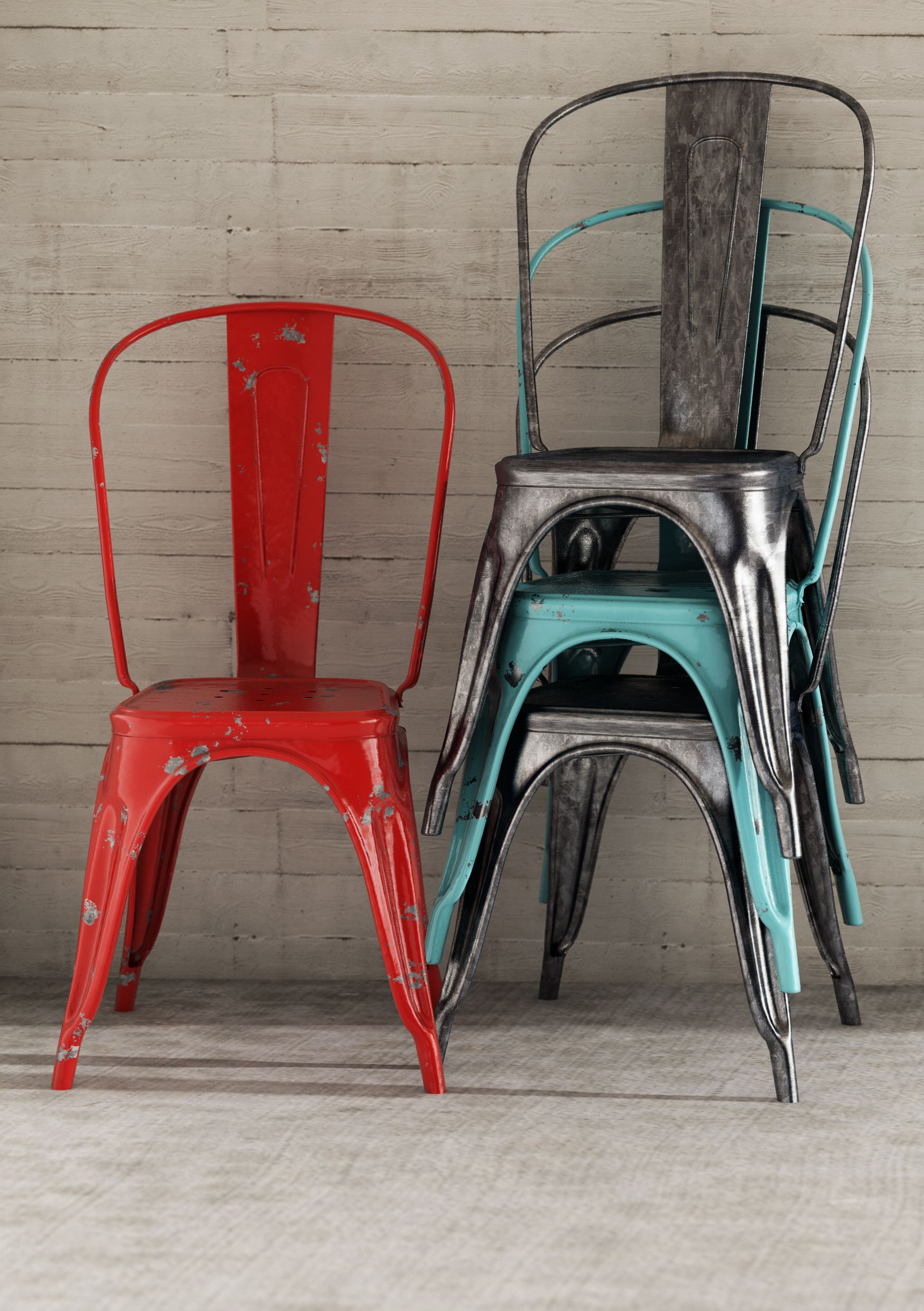 tolix chairs metal a chair pauchard best photo of dining chaise xavier style