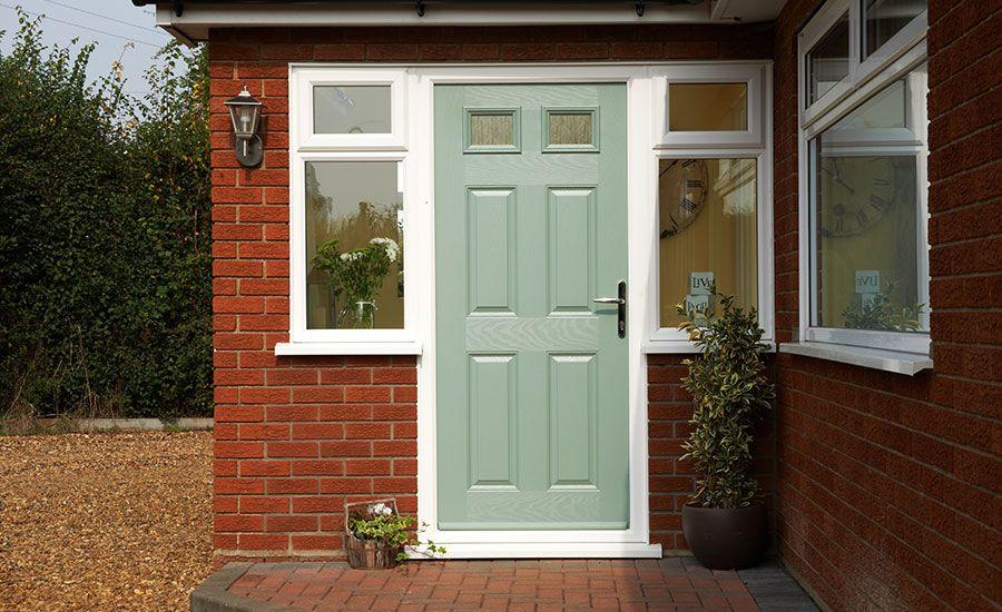 Green Front Door chelmsford grp door | delectable doors | pinterest | back doors