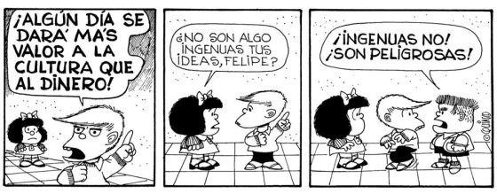 20 Frases De Mafalda Para Reflexionar En La Jornada De
