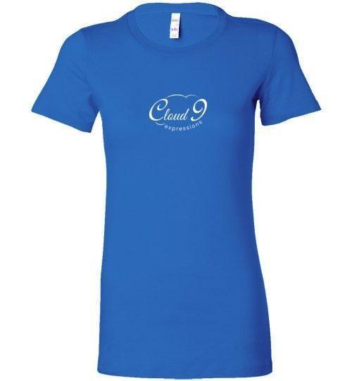 Cloud 9 Expressions - Women's White Logo Shirt