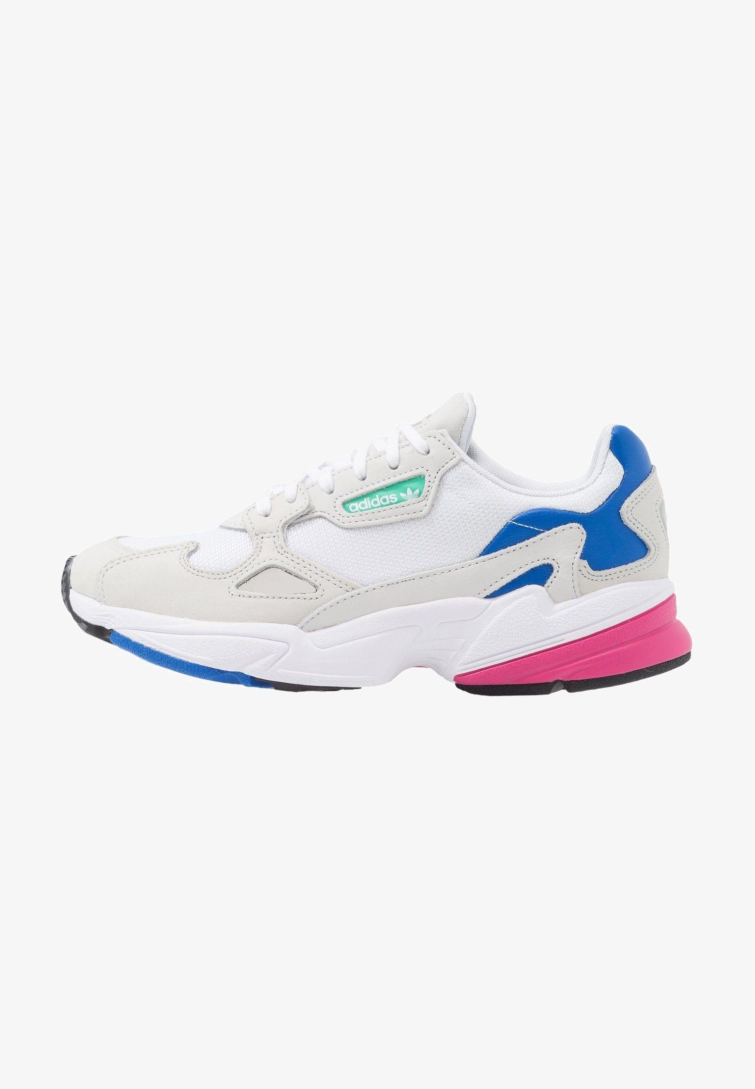 FALCON Baskets basses footwear whitegrey oneblue