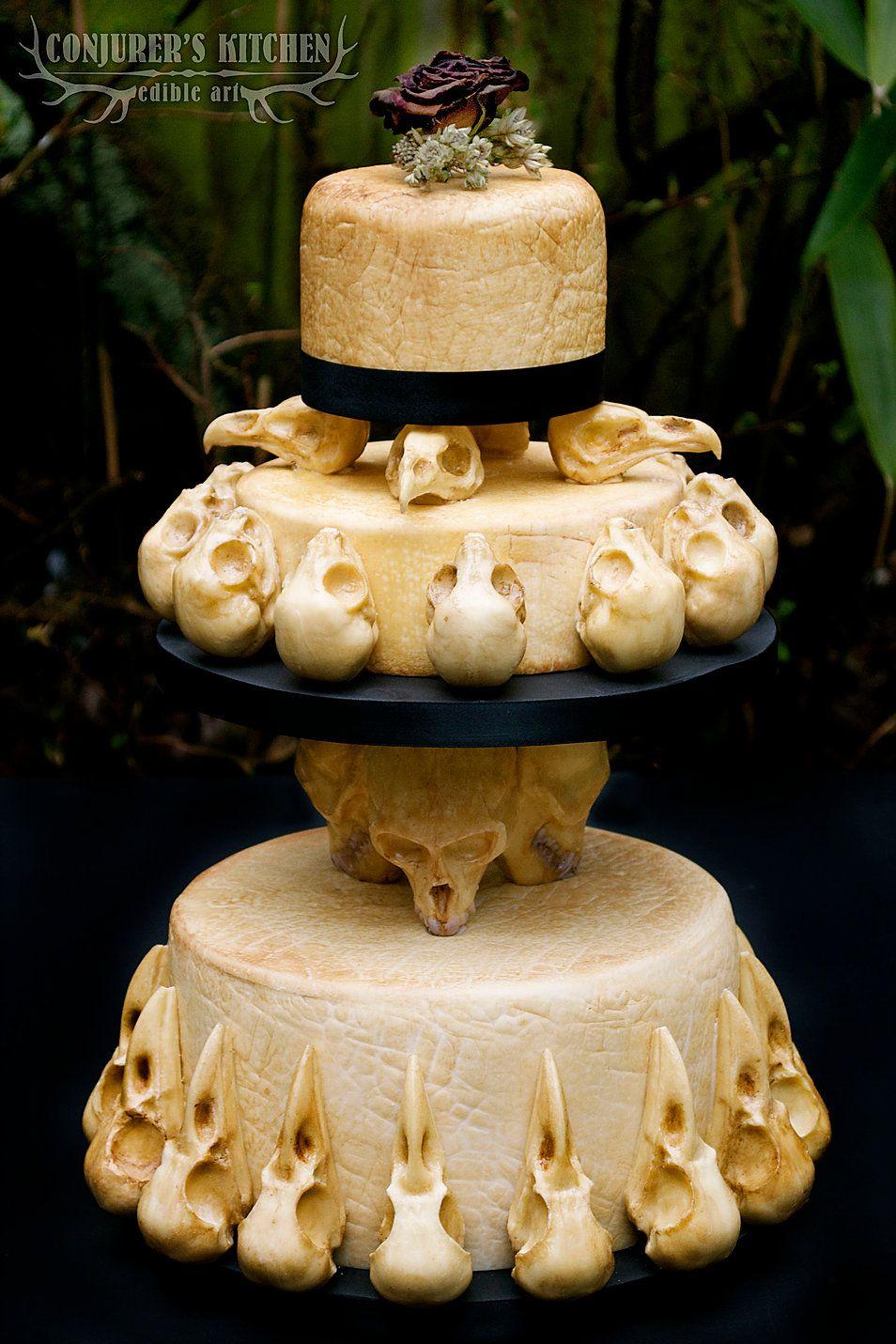 Food Art Birmingham Conjurer's Kitchen Cakes The