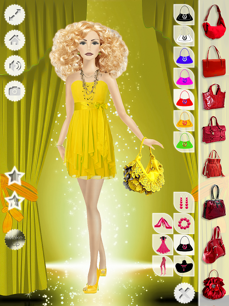 Free Barbie Makeup Dress Up Games for your smartphone or tablet at http: