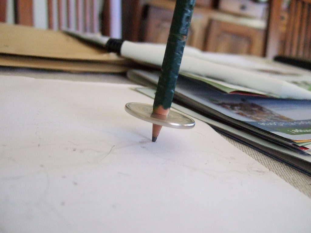Peonza lápiz