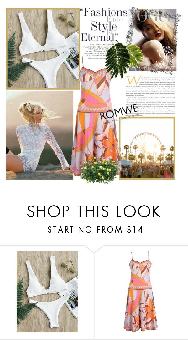 """""""Romwe"""" by ljubicica-malaa ❤ liked on Polyvore featuring Emilio Pucci"""
