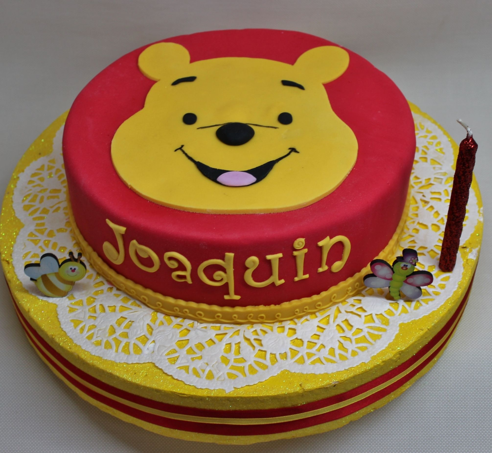 Winnie Pooh Cake By Violeta Glace My Babies Pinterest Cake