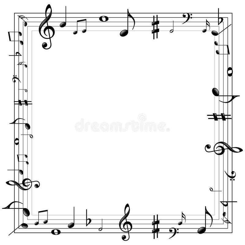 Music Notes Border Vector Illustration Of Music Notes Border Ad Border Notes Music Music Illustration Ad Music Notes Music Drawings Music Border