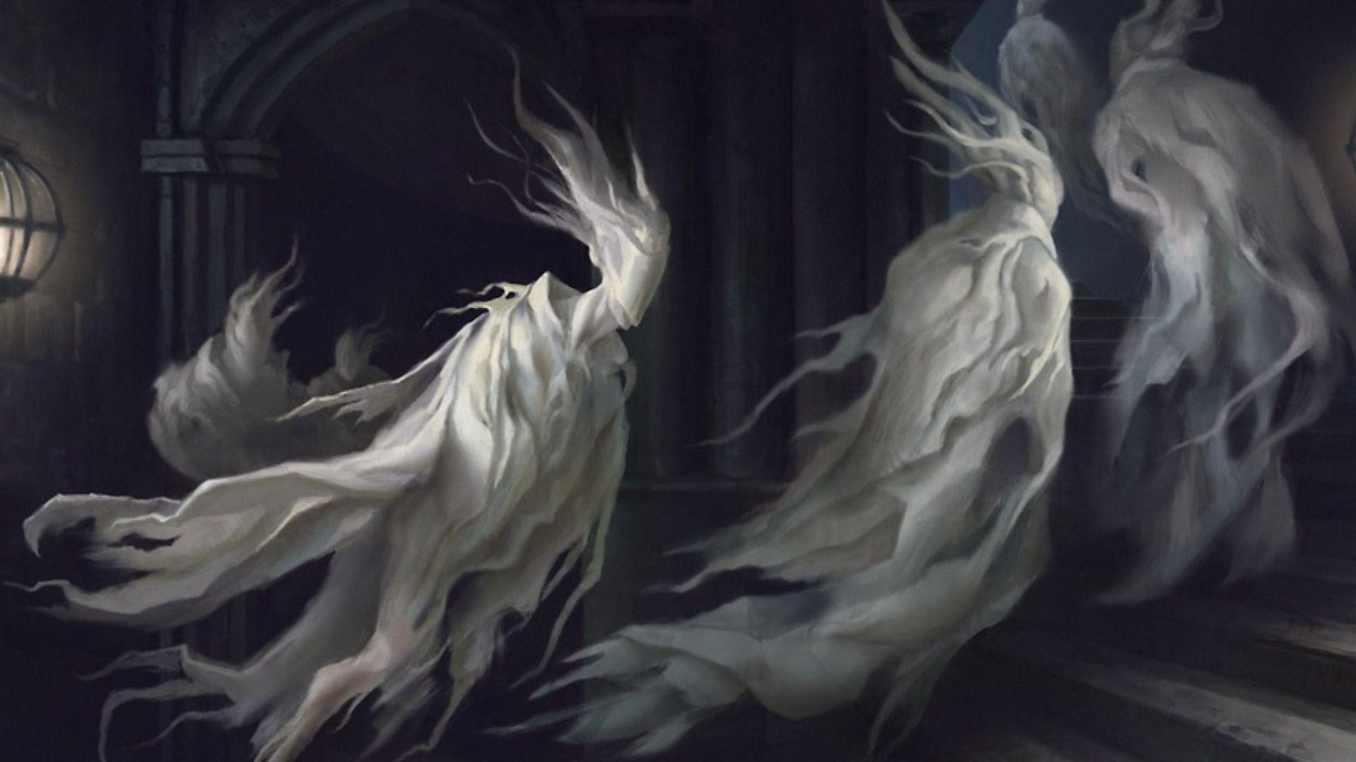 Dark horror ghost spooky creepy halloween art wallpaper ...