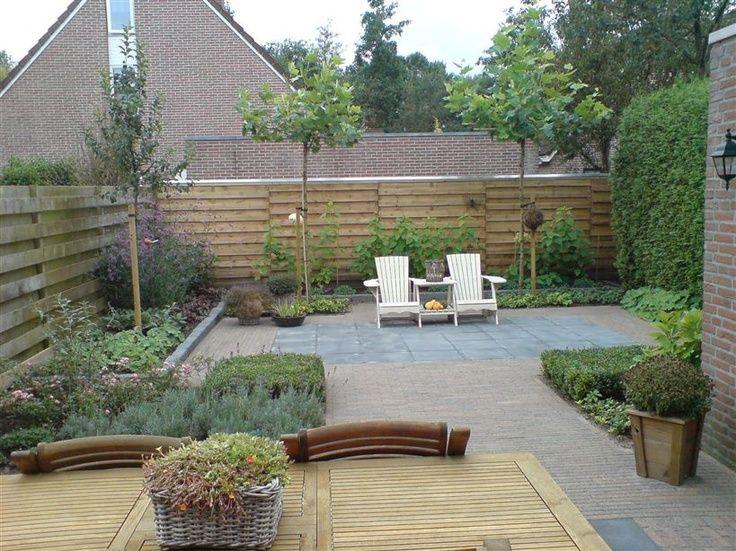or a tiled backyard. No mowing! | Backyard, Backyard ... on No Mow Backyard Ideas id=47878