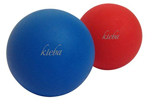 Kieba Massage Lacrosse Balls for Myofascial Release Trigger Point Therapy Muscle Knots and Discounted Kieba Massage Lacrosse Balls for Myofascial Release Trigger Point Th...