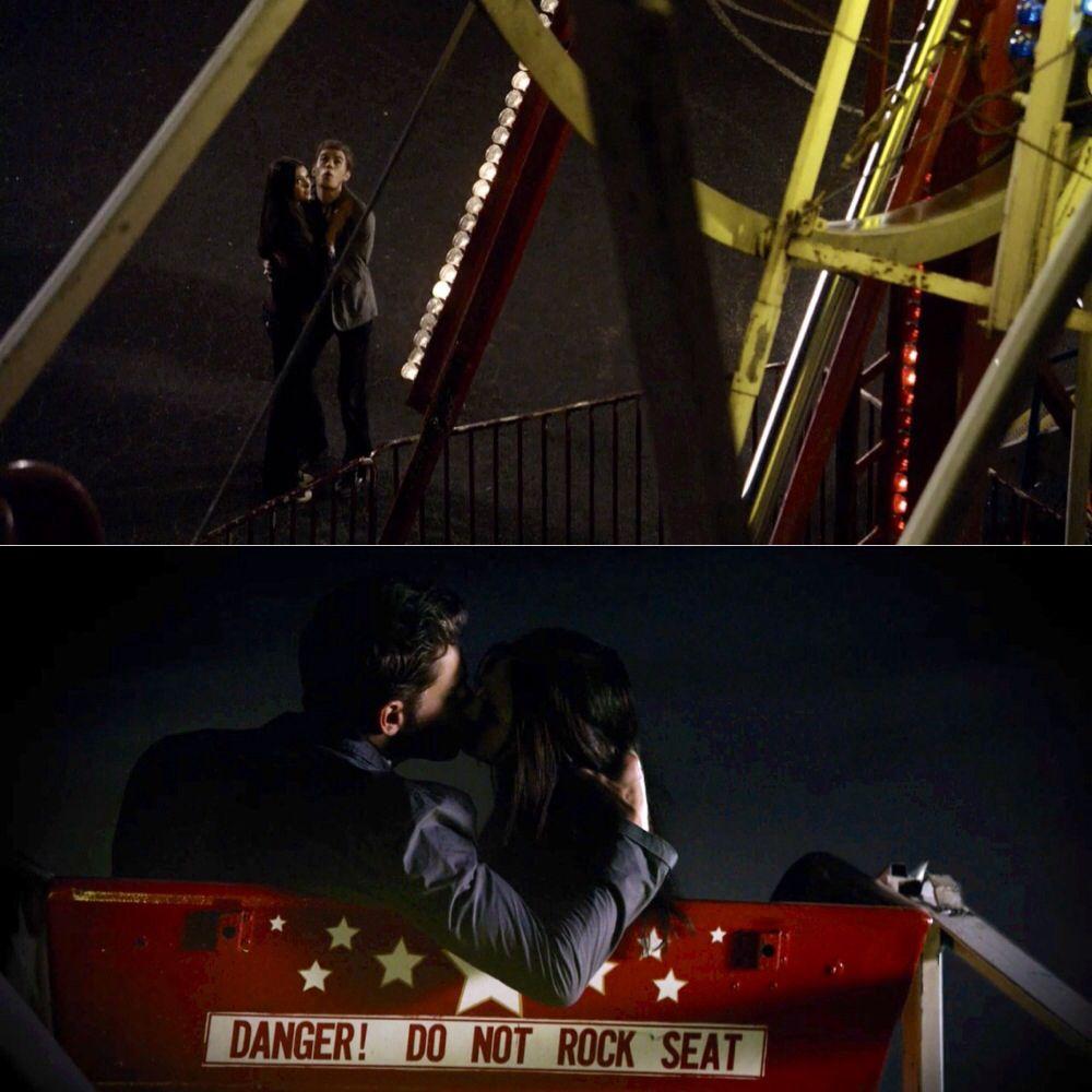 The Vampire Diares #TVD Season 1 #Stelena