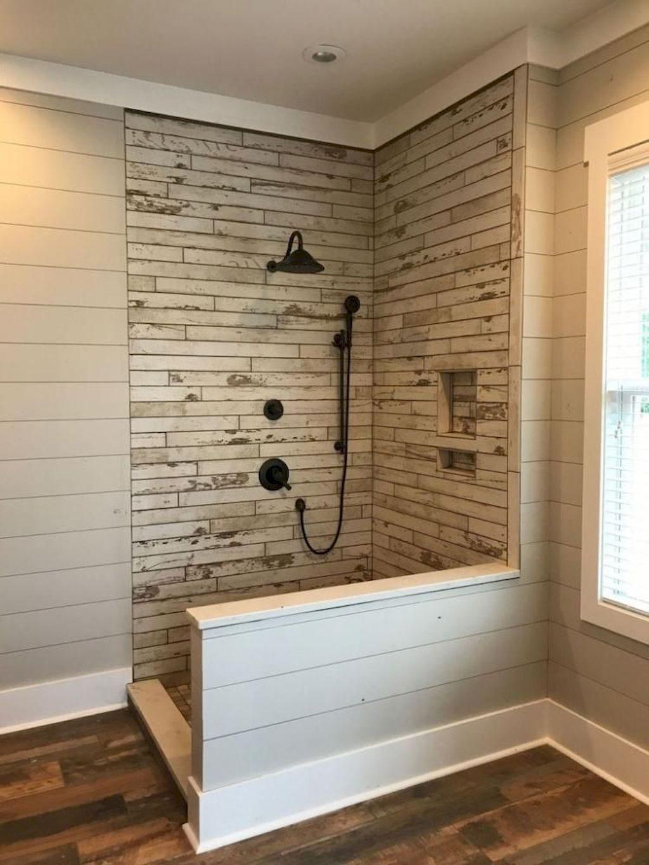 90 Insane Rustic Farmhouse Shower Tile Remodel Ideas Doitdecor