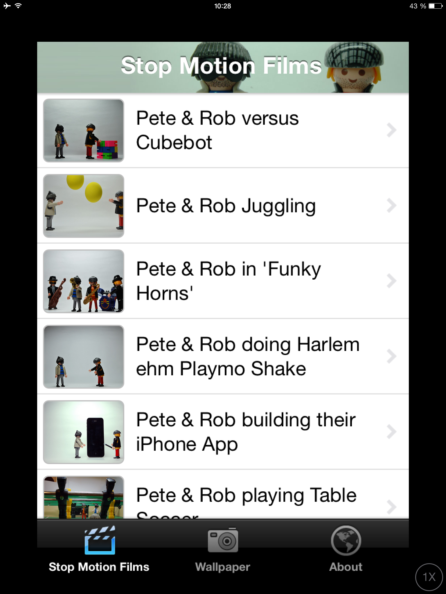 Get the Pete & Rob App for your device https//itunes