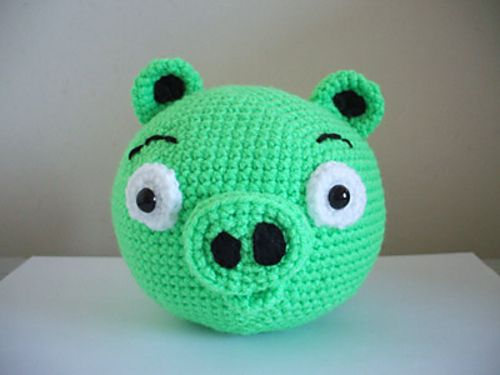 Angry Birds Pig By Adorable Amigurumi Free Crochet Pattern