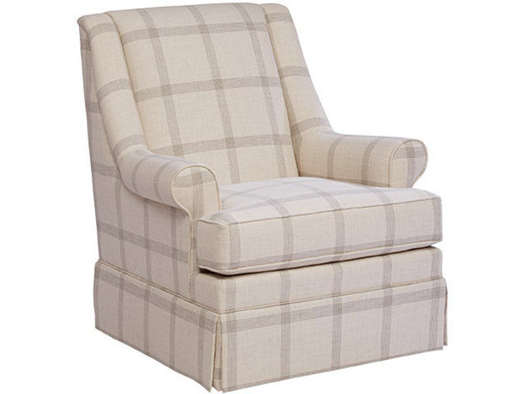 33 Wide Swivel Down Cushion Armchair Swivel Glider Chair Paula Deen Furniture Craftmaster Furniture Swivel living room chairs traditional