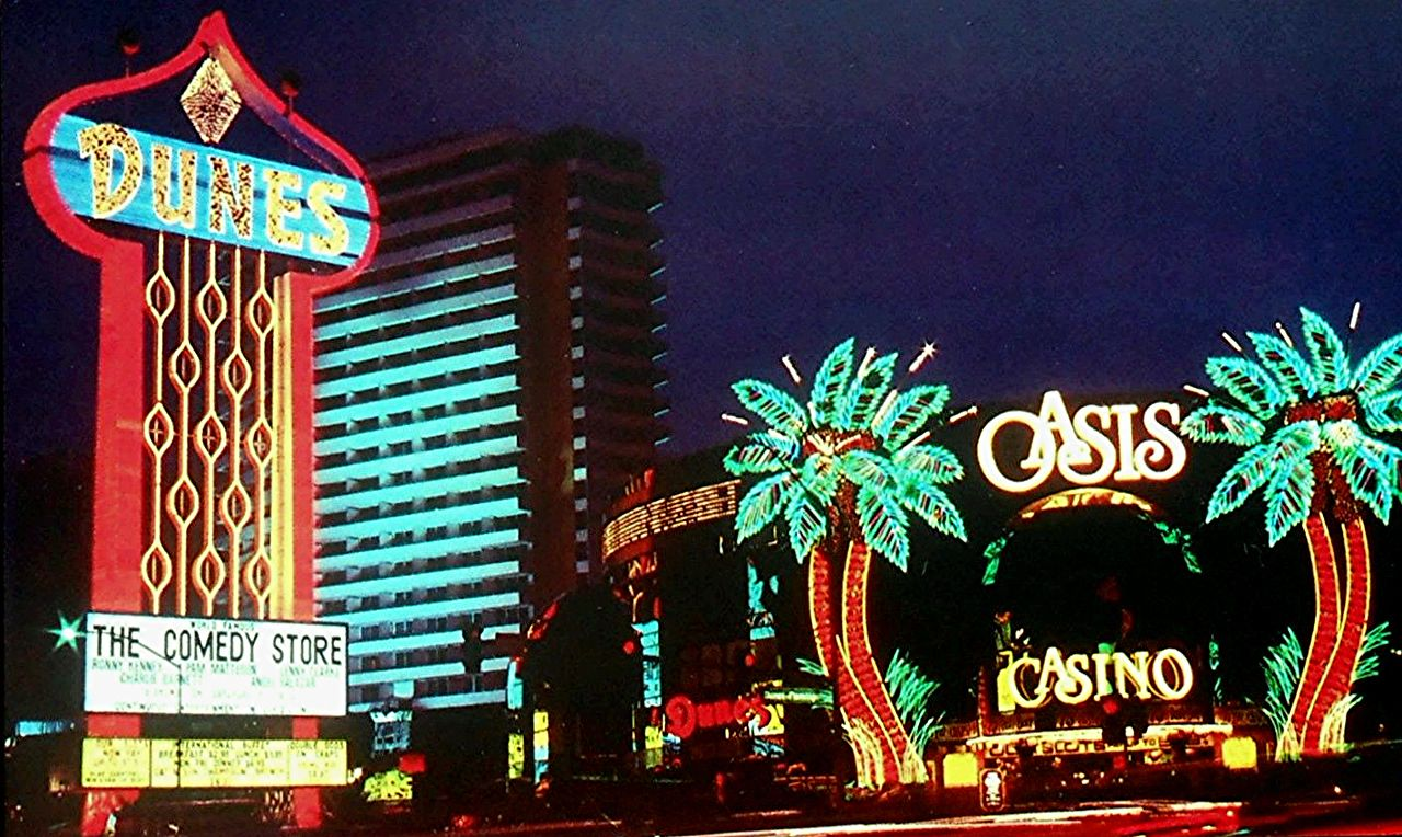 The Dunes and The Oasis Casinos are nothing but a memory today! | Old vegas, Las vegas, Vegas