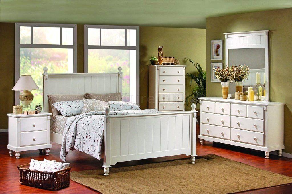 White Bedroom Furniture Decorating, White Master Bedroom Furniture