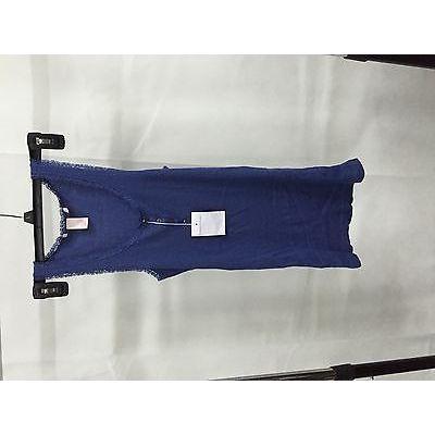 Victoria'S Secret Blue Sexy Sleeveless Short Dress, Size M/M