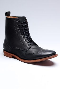 Normally not a wingtips fan even on boots, but these... oh man. Sharp as nails