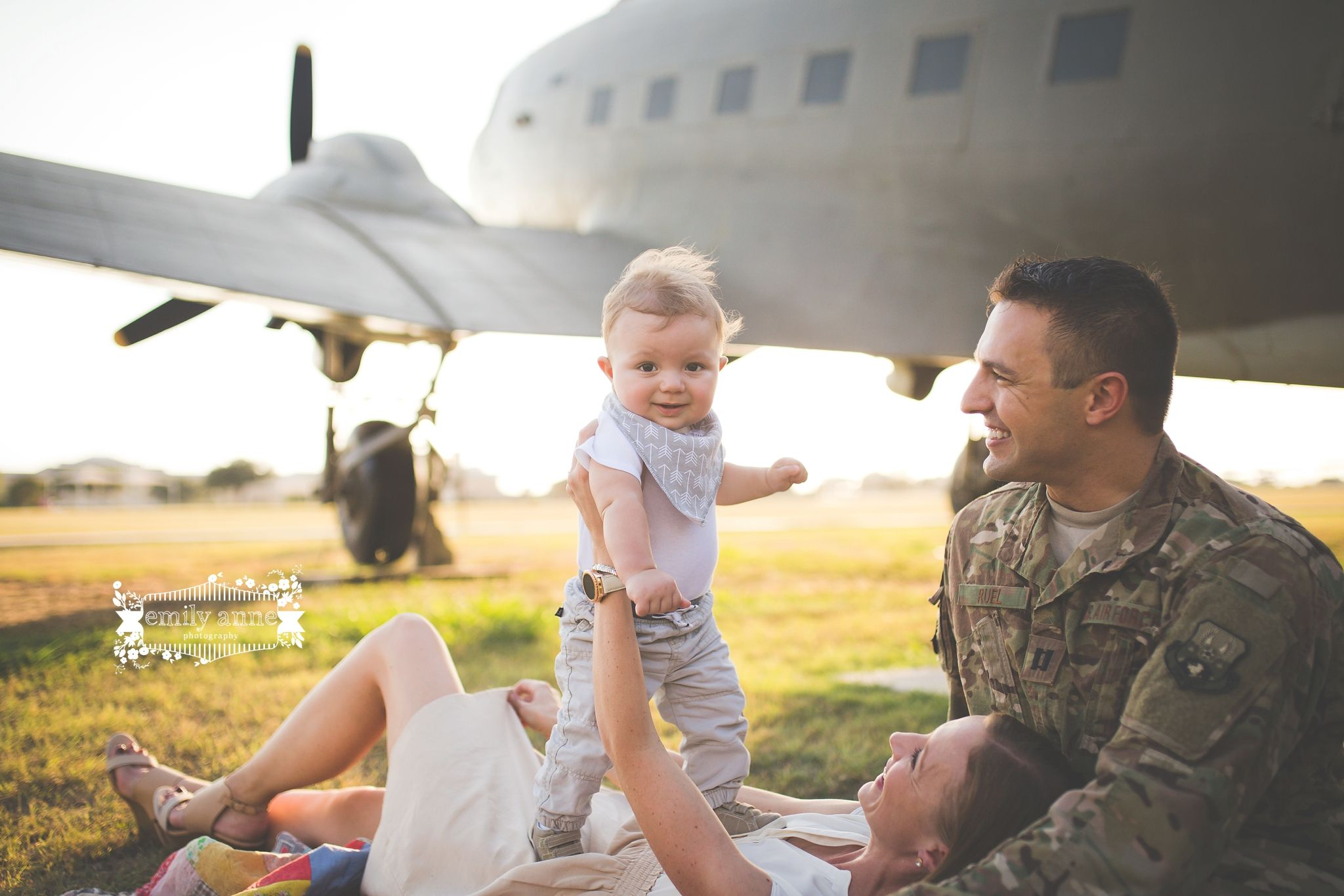 Military Family Photography Air Force Family Outdoor