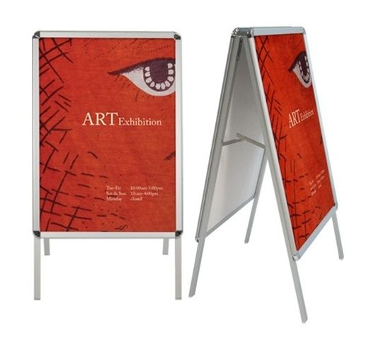 Aluminum Snap Frame Sign Display Trade Show Display A Frame Signs