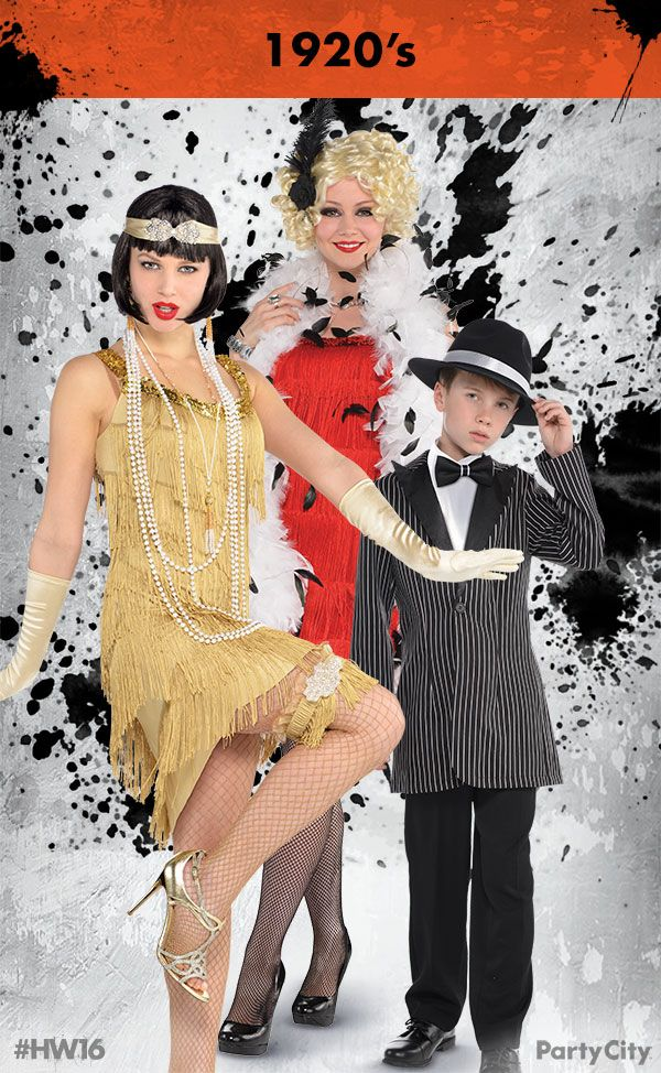 Rule Halloween and dress to thrill with 1920's costumes